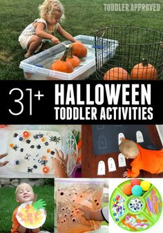Toddler Approved!: 31+ Awesome Halloween Activities for Toddlers