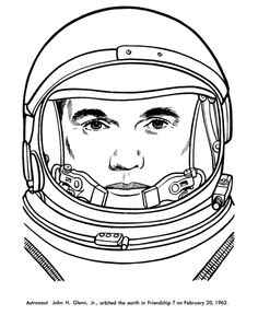 find this pin and more on brady john glenn coloring pages