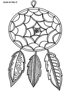 Free Printable Feather Coloring Pages From Doodle Art Alley