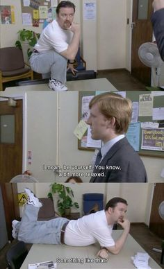the office UK, the Simply the Best!! I've watched the series in its entirety at least 3 times!
