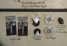 DIY Sliding Barn Door ~ Hardware http://figmilkshakes.blogspot.com/2013/03/diy-sliding-barn-door.html