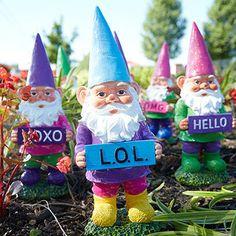 Gnome Sweet Gnome: Garden Décor