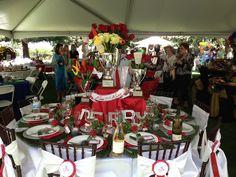 Kentucky Derby Table