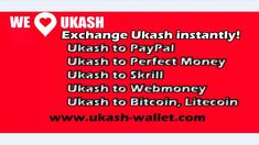 Ukash to Bitcoin exchange instantly. Top Up Bitcoin wallet through Ukash...