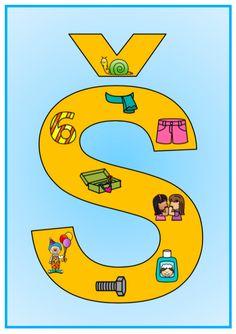 Produkt - Písmenka - výzdoba třídy Montessori, Kindergarten, Letters, Logos, School, Baby, Newborn Babies, Infant, Baby Baby