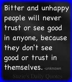 So true! Because they are too busy being miserable! I think I may know  some of these people.
