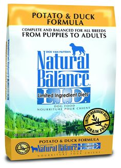 Natural Balance L.I.D. Limited Ingredient Diets Potato and Duck Formula Dry Dog Food * Tried it! Love it! Click the image. : Dog food types