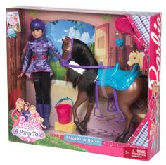 barbie playset dolls | Barbie and Her Sisters in a Pony Tale Skipper and Horse Doll Playset