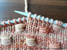 Punto entrelazado tejido a dos agujas - Paso a paso en fotos | Crochet y Dos agujas