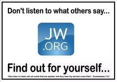 www.jw.com Offical Webiste of Jehovah's Witnesses.