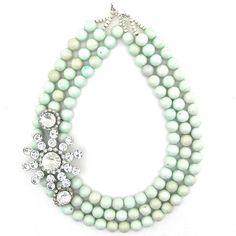 How You Mint It necklace by Elva Fields #elvafields