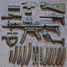 510 отметок «Нравится», 2 комментариев — GunsBlazingfan (@gunsblazingfan) в Instagram: «The current state of @scaarat ever evolving MP5 (Swiss made clone).»