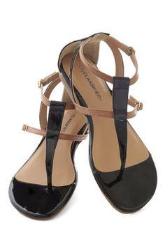 It Takes Two Tone Sandal, #ModCloth