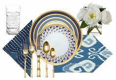 Posh Tablescapes - Blue & White