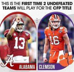 Clemson Football, College Football Playoff, Clemson Tigers, Football Helmets, Alabama Crimson Tide, First Time, Health Advice, Cartoons, Rolls