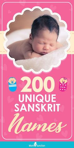 A name is not just a combination of letters. It reflects one's identity, heritage, and culture. Parents these days look for more than just a beautiful name. They want something more profound. And Sanskrit language is the best source for names that speak to your soul.