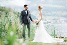 Märchenhafte Trauung in Merlischachen im wunderschönen Swiss Chalet. Wedding Dresses, Photography, Fashion, Weddings, Nice Asses, Bride Dresses, Fotografie, Moda, Photograph