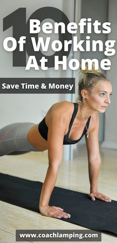 Why not consider the 10 benefits of working out from home! Ready to commit to a leaner, fitter, and healthier you? Here are ten benefits of selecting a workout routine that you can do from home.
