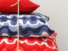 Aallotar |Designed by Emma Hagman for Eurokangas Surface Design, Textiles, Patterns, Studio, Prints, Bags, Inspiration, Fashion, Block Prints