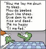 Pearls Before Swine 'Bedtime Prayers'