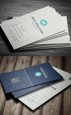 Clean Corporate Business Card Design