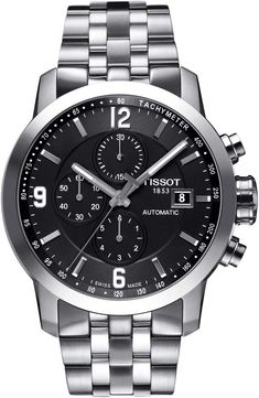 220c4912c0fe Tissot PRC200 Automatic Chronograph Bracelet Watch