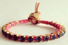 Vylet-Collection_Tan-Neon-Pink-Bracelet_32