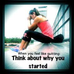 Running motivation- because cheerleading sucks.