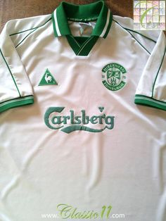3dad0a76ac0 Relive Hibernian's season with this vintage Le Coq Sportif away football  shirt. Classic11 Football Shirts