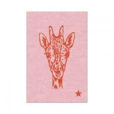 Wild Pop Giraffe Rug