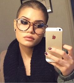 Shaved Head Women on Pinterest | Shaved Heads, Bald Women and ...