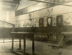 The Gymnasium in the early 1900s