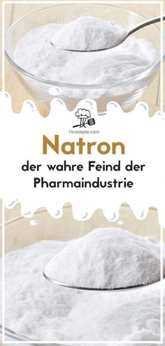 Natron – der wahre Feind der Pharmaindustrie – Rezepte Soda – the real enemy of the pharmaceutical industry – recipes Health And Wellbeing, Health Tips, The Cure, Food And Drink, Health Fitness, Industrial, Homemade, Healthy, Recipes