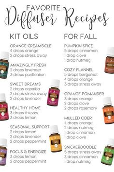 All it takes is a few cool mornings and I have all the fun of fall on my mind. I love that fall comes with a whole scent combination of its own!! Did you know that you can use your Young Living essential oils to create these favorite fall aromas? Your house will smell amazing […]