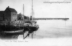 Motif No. 1 and Harbor, Rockport, Mass., 1905