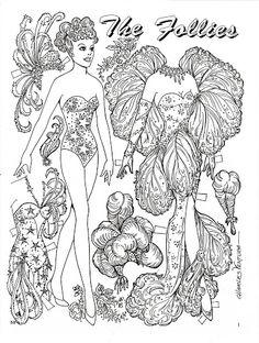 The Follies Paper Doll by charles Ventura - Maria Varga - Picasa Web Albums