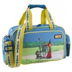 Hochwertige Reisetasche für Kinder mit Ritter Rost Motiv.