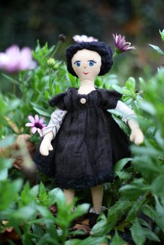 Doll exclusive little cloth doll heirloom quality by AllWithWings