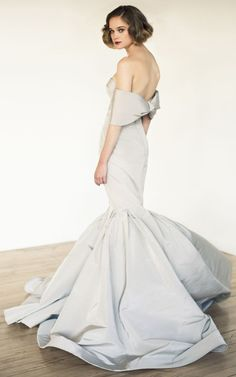 Katie Ermilio Sweetheart Bow Gown