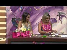 Mulher.com 30/01/2014 - Lírios em Biscuit- Alessandra Assi - (Bloco 1/2)…