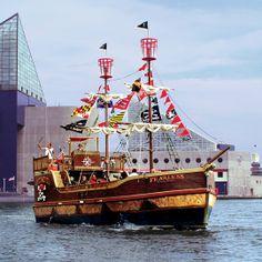 Urban Pirates - Baltimore, MD - Kid friendly activity reviews - Trekaroo