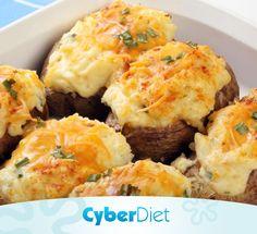 Batata recheada para o jantar! Que tal? http://cyberdiet.terra.com.br/batata-recheada-13-2-13-47.html