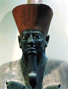 Egypt. Statue of Mentuhotep II  -12th dynasty
