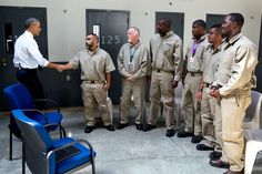 Obama Gets Real With Inmates in  Fixing the System