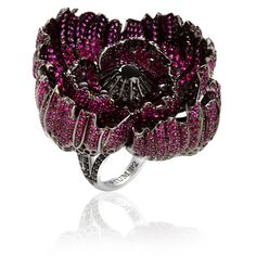 #Sybarite #floral #jeweloftheday #ring #statement #jewelry #jewellery