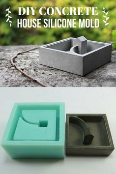 I love this walk to house planter. It is my favorite flower pot ever. And with this reusable silicone mold I could make oh so many of them. #ad #concrete #walktohouse #planter #house #flowerpot #pot #siliconemold #reusable #cement #homedecor #diy
