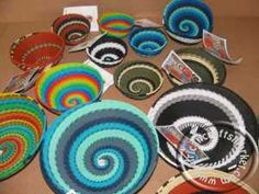African Telephone wire bowls