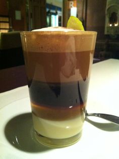 A Barraquito Coffee from Tenerife