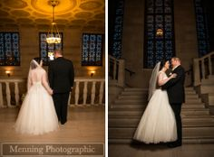 @Stambaugh Auditorium  Youngstown, OH Wedding Photography