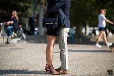 Chiara Ferragni & Riccardo Pozzoli in Milan